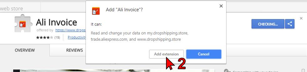Install Ali Invoice