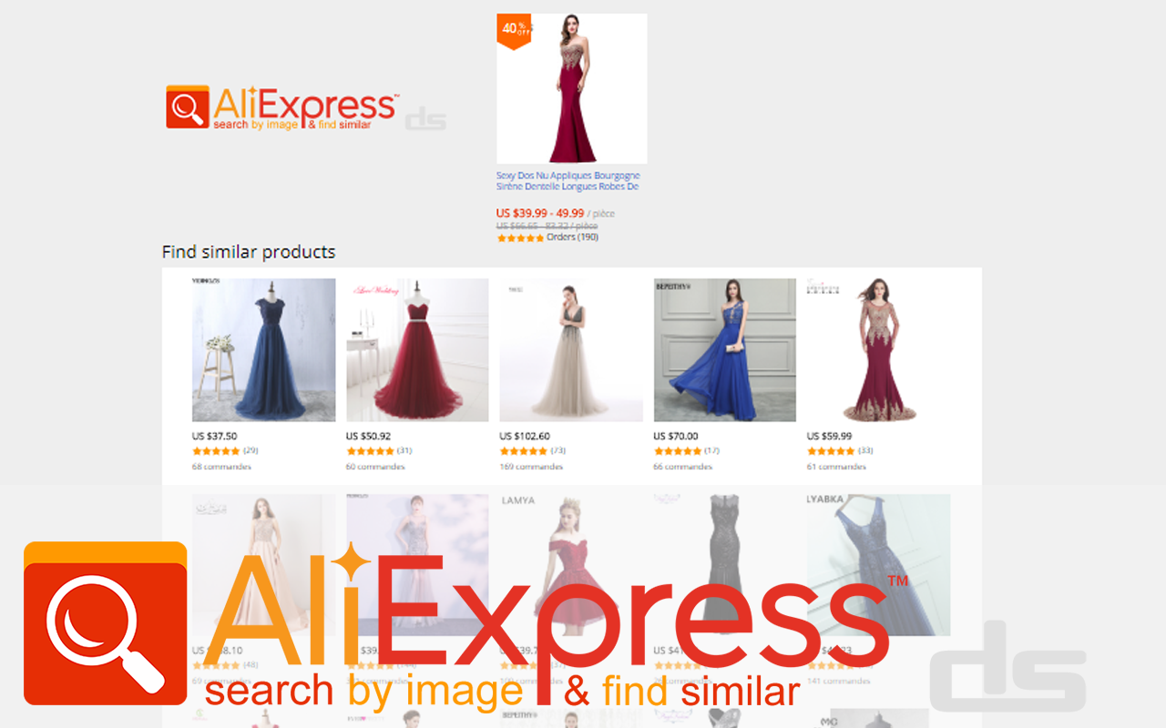 Search AliExpress by Image and Find Similar